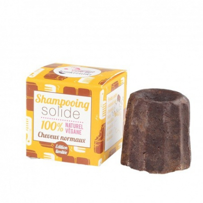 Shampoing solide cheveux normaux au chocolat Lamazuna